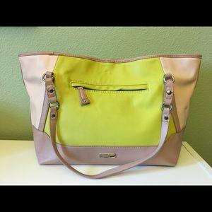 JESSICA SIMPSON Bags - JESSICA SIMPSON large pastel colored tote